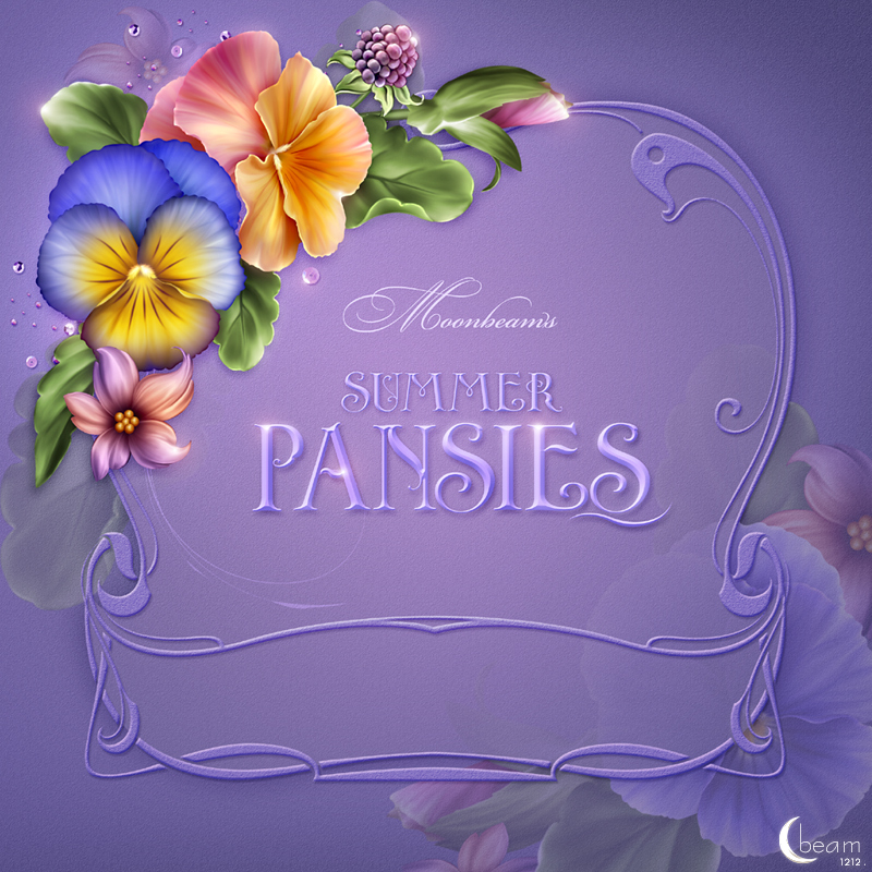 Moonbeam's Summer Pansies