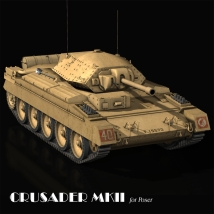 Crusader MKII Themed Software Transportation Touchwood