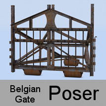 Barricade Belgian gate by andreasgr