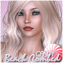 Candy Beach Combed Hair Themed Sveva