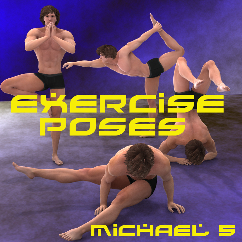 Farconville's Exercise Poses for Michael 5