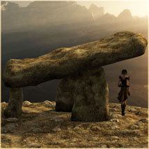 Dolmen 3D Models 2D Software vikike176