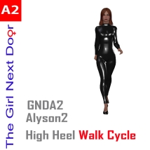 GNDA2_catwalk_VaVaVoom 3D Figure Assets mr_runtime