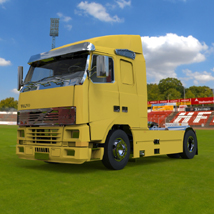 Volvo Truck (for 3D Studio Max) Themed Software Digimation_ModelBank