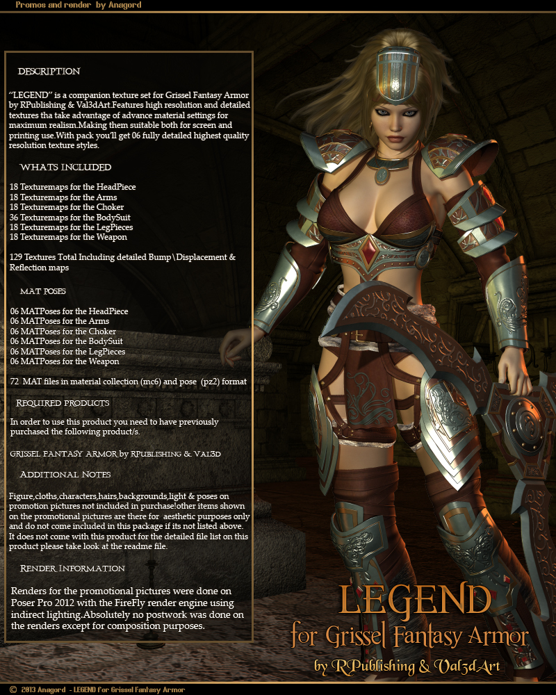 LEGEND for Grissel Fantasy Armor