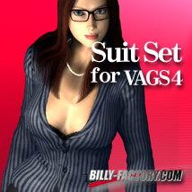V4 Suit Set 3D Figure Assets billy-t