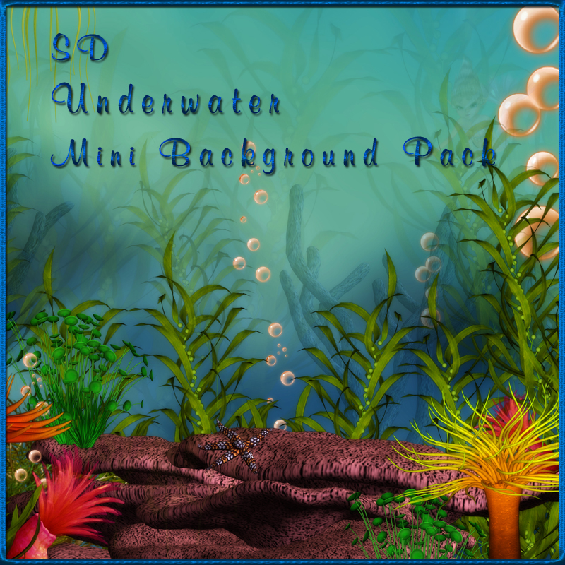 SD Underwater Mini Background Pack