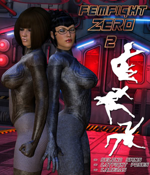 FemFight Zero 2 Themed Poses/Expressions Clothing Darkworld