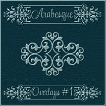 ARABESQUE Transparent Seamless Overlay Pack image 1