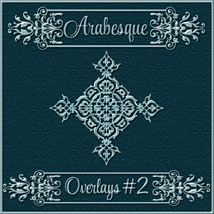 ARABESQUE Transparent Seamless Overlay Pack image 2