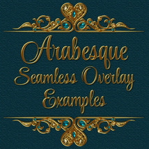 ARABESQUE Transparent Seamless Overlay Pack image 3