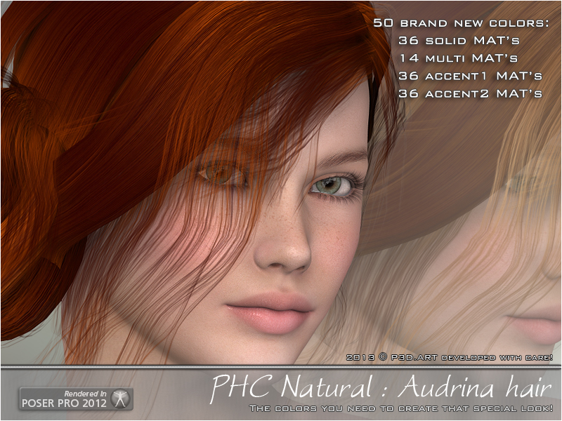 PHC Natural - Audrina hair