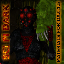 FSL Sci Fi Dark Mats DAZ 4.5 2D And/Or Merchant Resources Themed fuseling