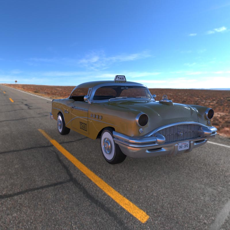 Buick Century (for 3D Studio Max)
