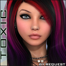 ToXic Maria Hair Themed Software Silver