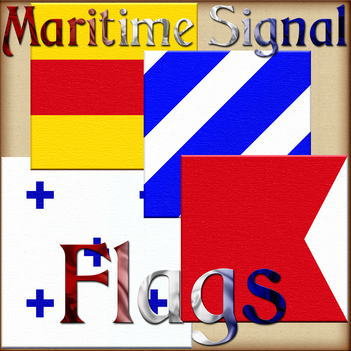 Harvest Moons Maritime Signal Flags