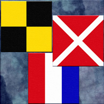 Harvest Moons Maritime Signal Flags image 1