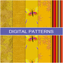 Digital Patterns - Yellow 2D And/Or Merchant Resources Atenais