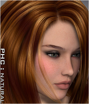 PHCNatural : Alkyone Hair Themed P3D-Art