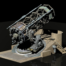 MS13 Discovery Telescope 3D Models London224