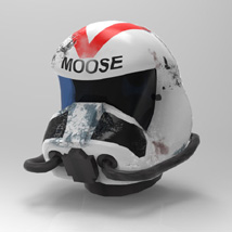 WC Helmet (M4) (for Poser) Clothing Themed VanishingPoint