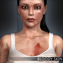 Bloody Skin by mytilus