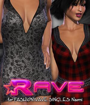 SWD Rave for FWS: Naomi Clothing Silverwind-Designs