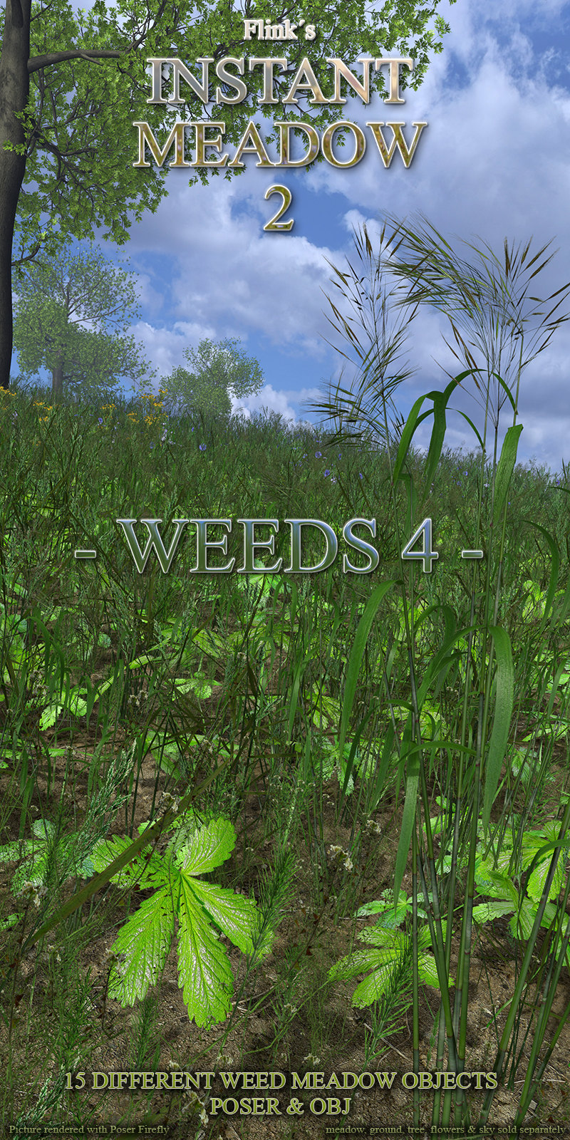 Flinks Instant Meadow 2 - Weeds 4