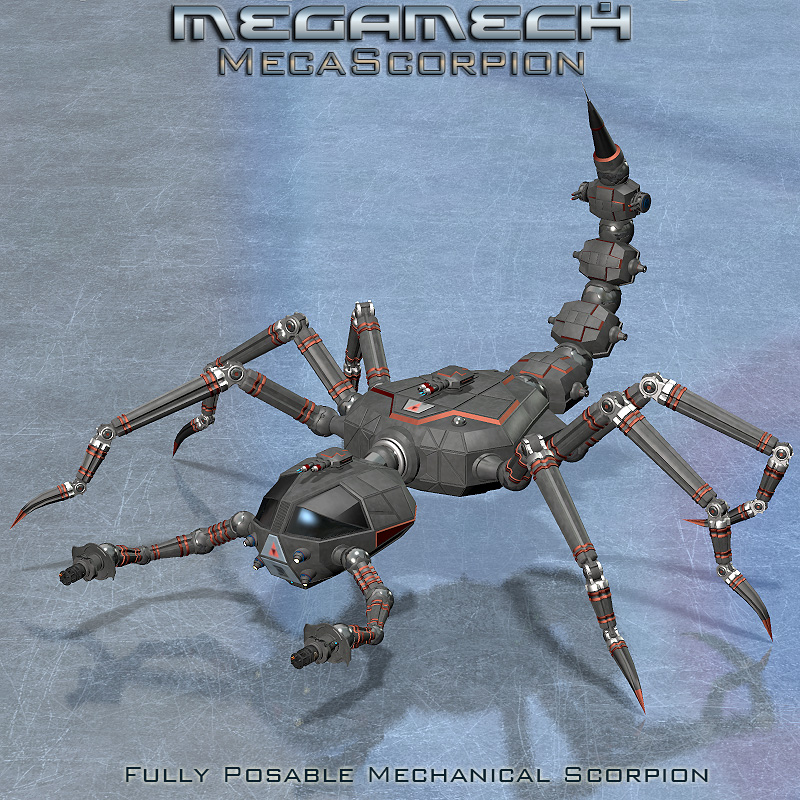 MegaMech Scorpion