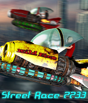 Street Race 2233 Transportation Themed Cybertenko