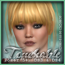Touchable Gwen Hair Themed -Wolfie-