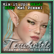 Touchable Hr-108 3D Figure Assets 3D Models -Wolfie-