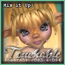 Touchable Toon Salon Hair Series-2 Hair Themed -Wolfie-