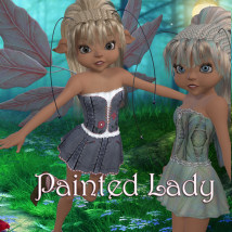 Painted Lady Clothing Themed JudibugDesigns