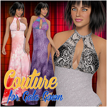 Couture for Gala Gown Clothing Atenais