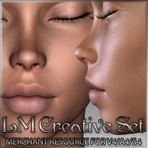 LM CREATIVE SET Merchant Resource  2D And/Or Merchant Resources luciferino