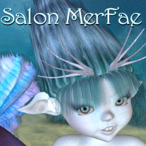 Salon MerFae 3D Figure Essentials 3D Models JudibugDesigns