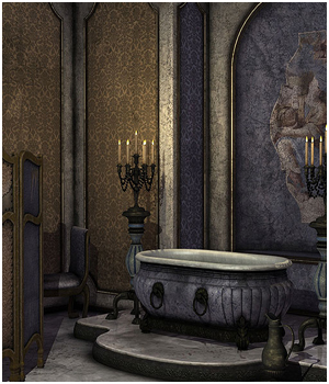 Add-on textures for Montespan Bathroom 3D Models coflek-gnorg