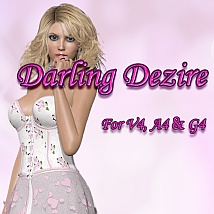 Darling Dezire 3D Figure Essentials DreamerZ_Loft