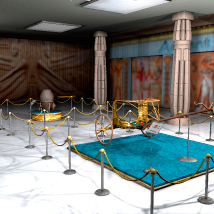 AJ_Museum_Ancient Egypt Hall Themed Props/Scenes/Architecture -AppleJack-