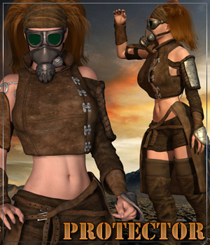 PROTECTOR for Outlanders:Survivor Clothing Hair Themed Anagord