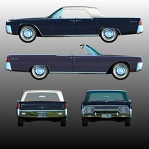 LINCOLN CONTINENTAL 1961 (for Poser) image 8