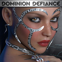 C5PG Dominion Defiance 3D Figure Essentials calum5