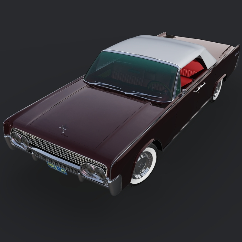 LINCOLN CONTINENTAL 1961 (for Vue)