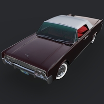 LINCOLN CONTINENTAL 1961 (for Vue) 3D Models Nationale7