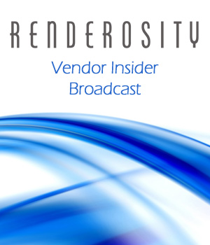 Renderosity Vendor Insider Broadcast Services/Rosity Stuff renderositymarketing