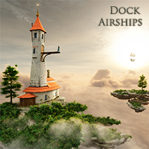 Dock Airships 3D Models 1971s