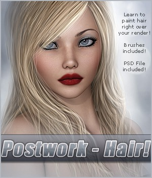 SV Postwork - Hair Tutorial Tutorials 2D And/Or Merchant Resources Sveva