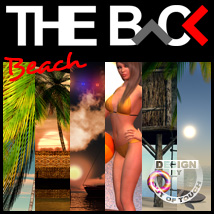 THE BACK Beach 3D Models 3D Lighting : Cameras outoftouch