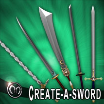 MM Create a Sword Themed Props/Scenes/Architecture mix_mash